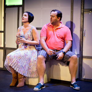"(l to r) Lindsie VanWinkle and Brian Ray Norris in ""A Dog Story"""